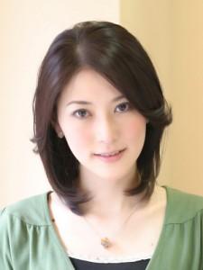 ミディアムエレガント【40代髪型】