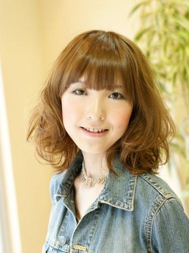 40代パーマボブスタイル【表参道ミセス髪型】