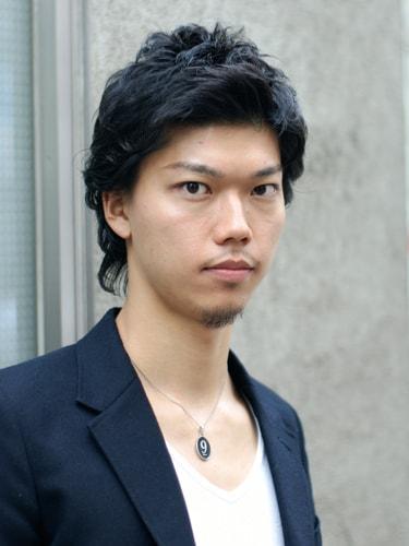 【表参道男性髪型】ミディアムショートフロント