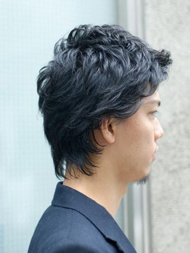 【表参道男性髪型】ミディアムショートサイド