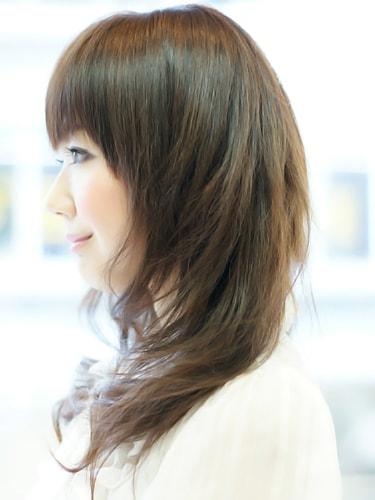 【表参道30代髪型】ナチュナルロングスタイルサイト