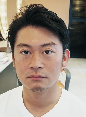 2ブロック7:3パート|メンズ男性ビジネスマン髪型|表参道青山美容室美容院SORRISO