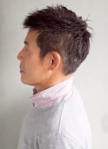 50代60代男性髪型|ベリーショート