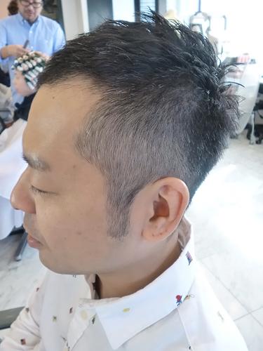 アシメソフトモヒカン-表参道美容室青山美容院SORRISO