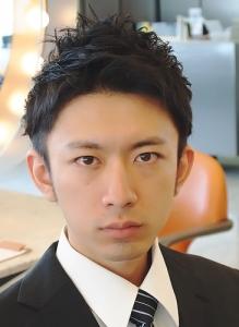 表参道フリーランス美容師石川智男性髪型