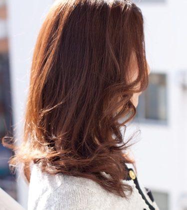 セミロング 髪型 50 代
