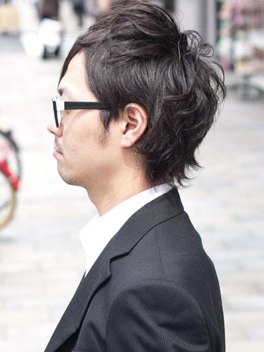 40代男性髪型ビジネスショート11サイド