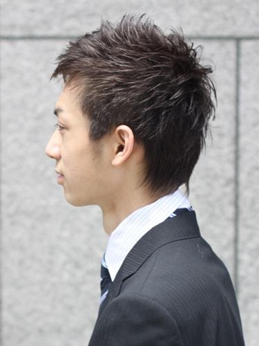 40代男性髪型ビジネスショート5サイド