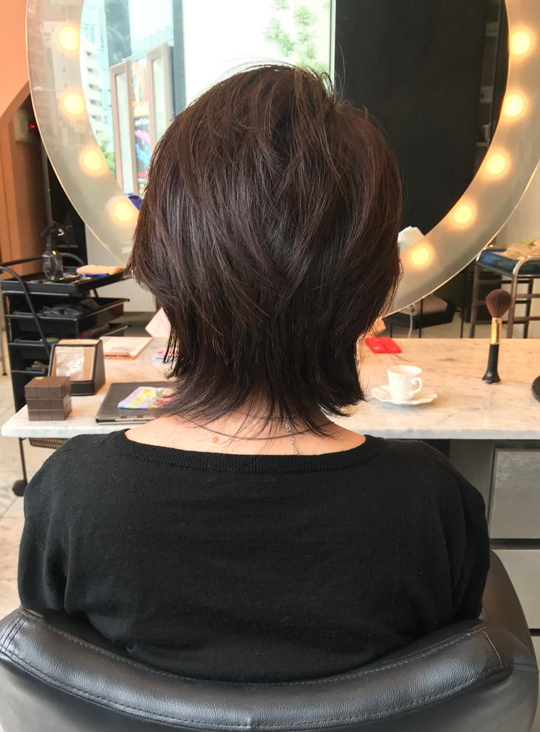 ウルフ ショート ボブ 【2021年夏】ショート ウルフの髪型・ヘアアレンジ|人気順|ホットペッパービューティー